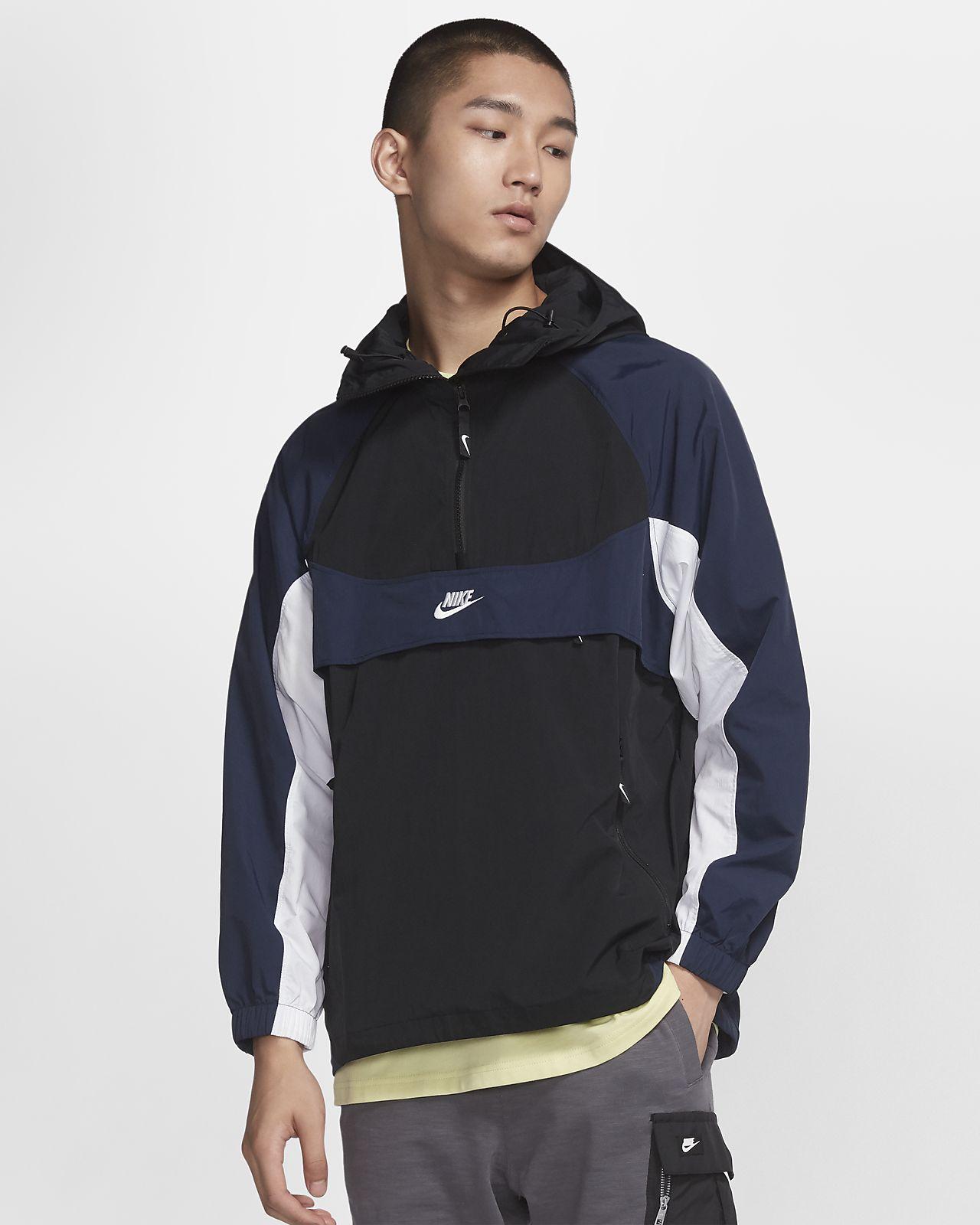 Nike Sportswear 男子连帽梭织上衣