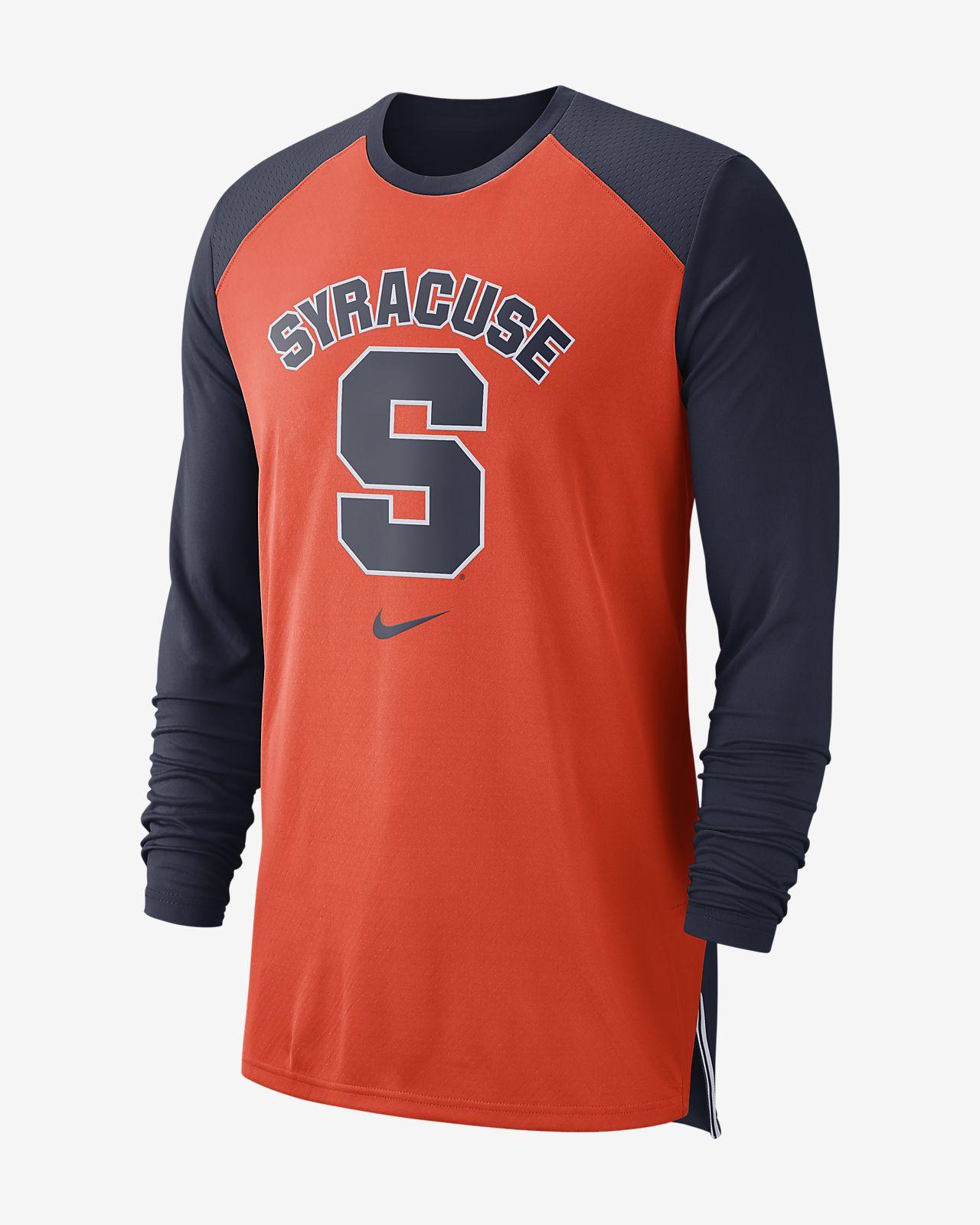 Nike College Breathe (Syracuse) Men's Long-Sleeve Top