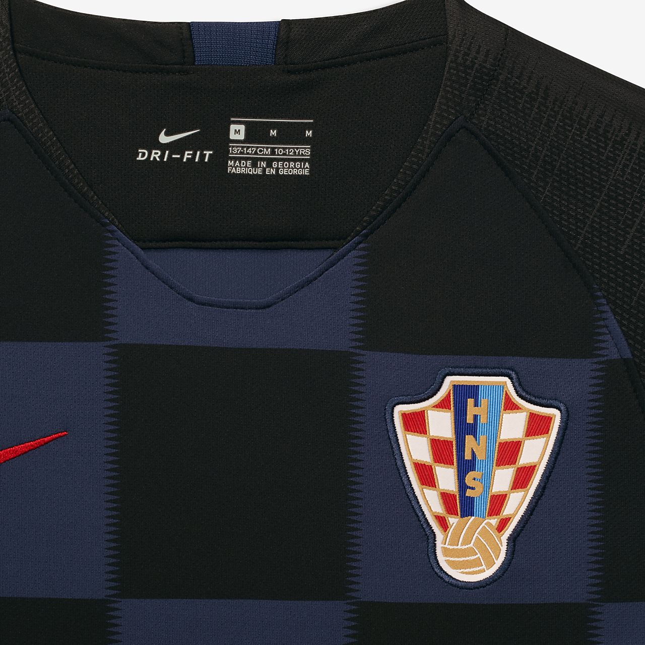 796bc9d25 2018 Croatia Stadium Away Older Kids  Football Shirt. Nike.com GB