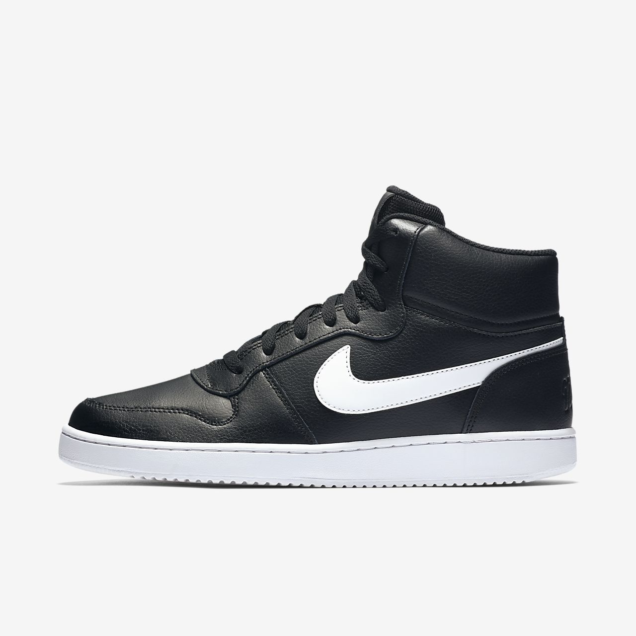 Nike Ebernon Mid Zwarte Sneakers | TORFS.BE | Gratis verzend