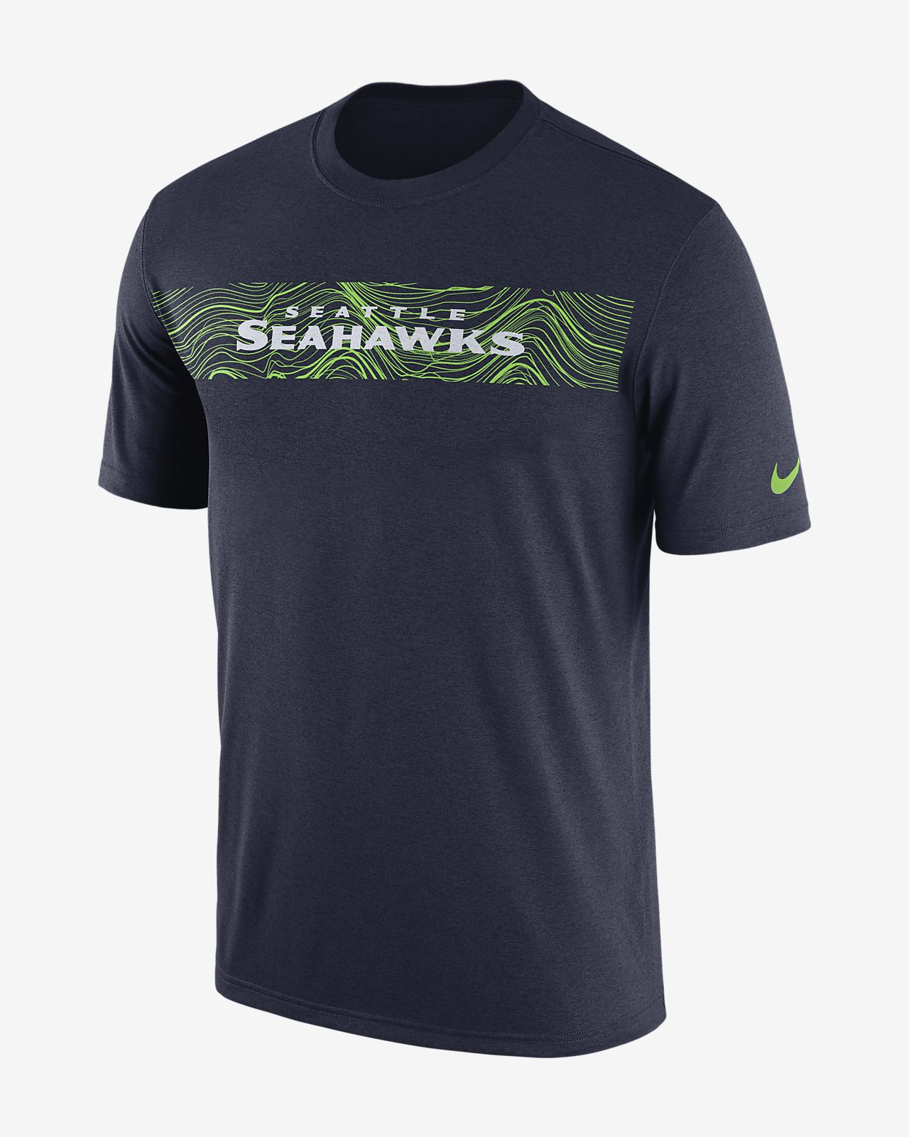 1e374ef3e23b2 Playera para hombre Nike Dri-FIT Legend Seismic (NFL Seahawks). Nike ...