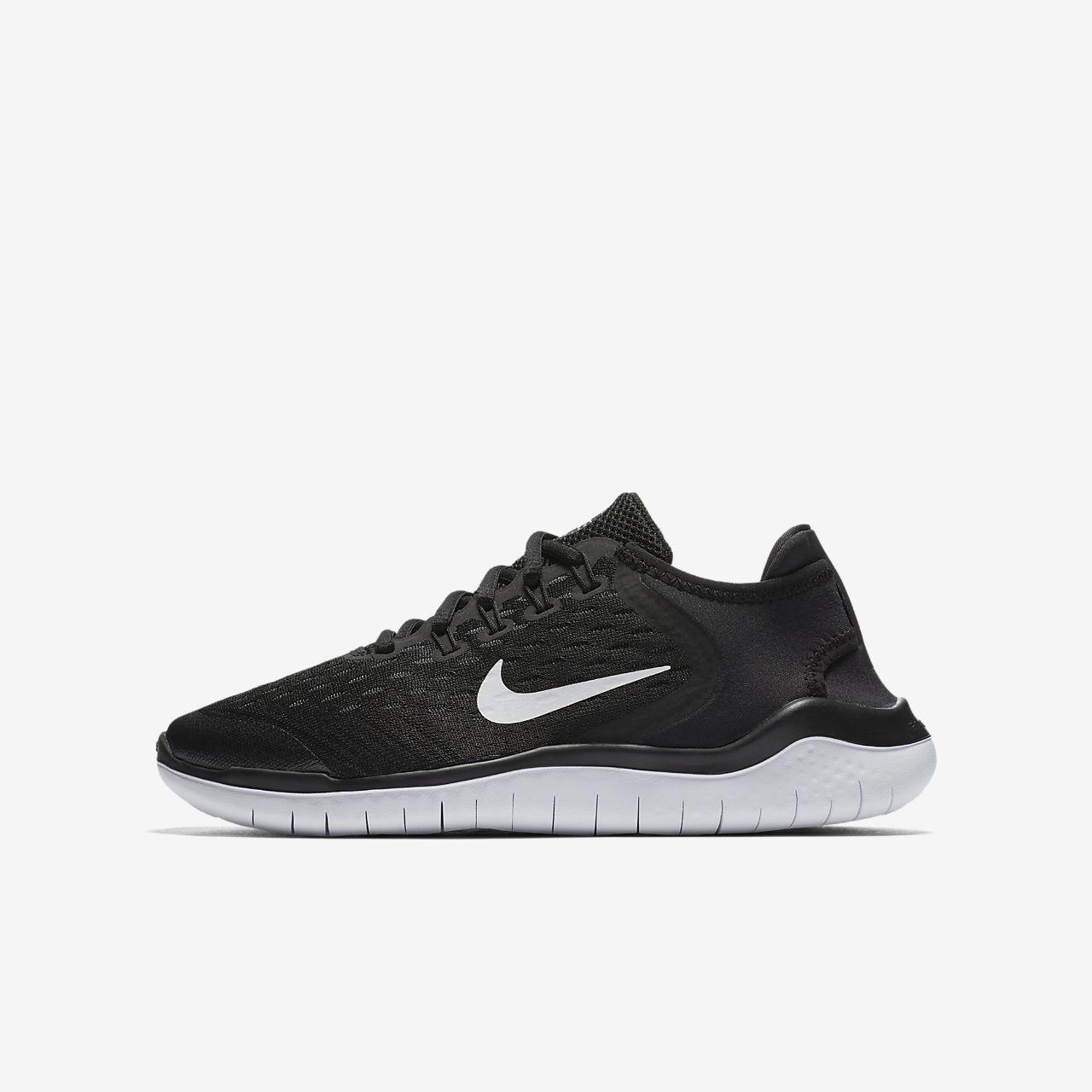 nike flex 2018 rn noir rouge chaussures on vente