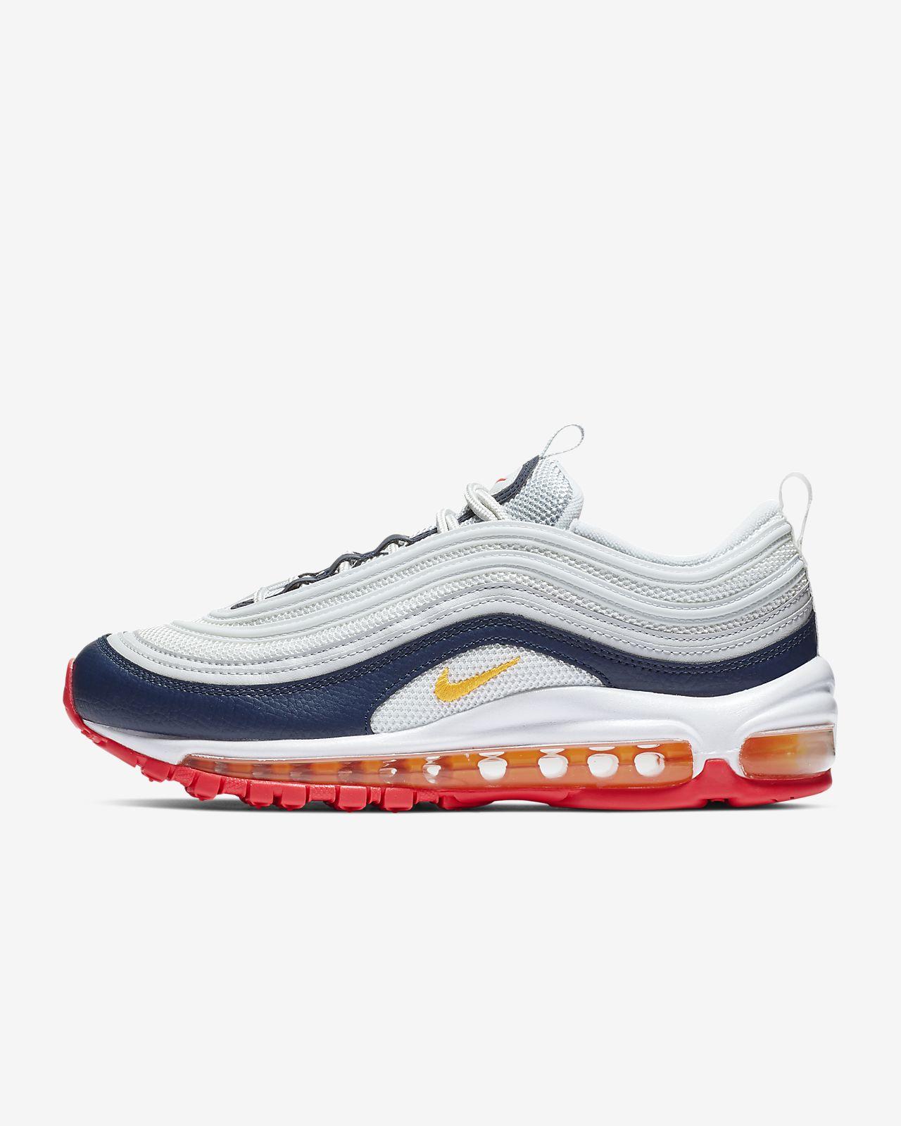 Nike Herres Air Max 97 Premium BeigeHvid 312834 200