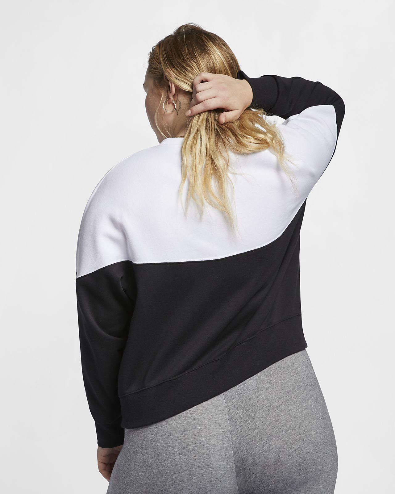 8190a71c635 ... Sudadera de vellón para mujer (talla grande) Nike Sportswear Heritage