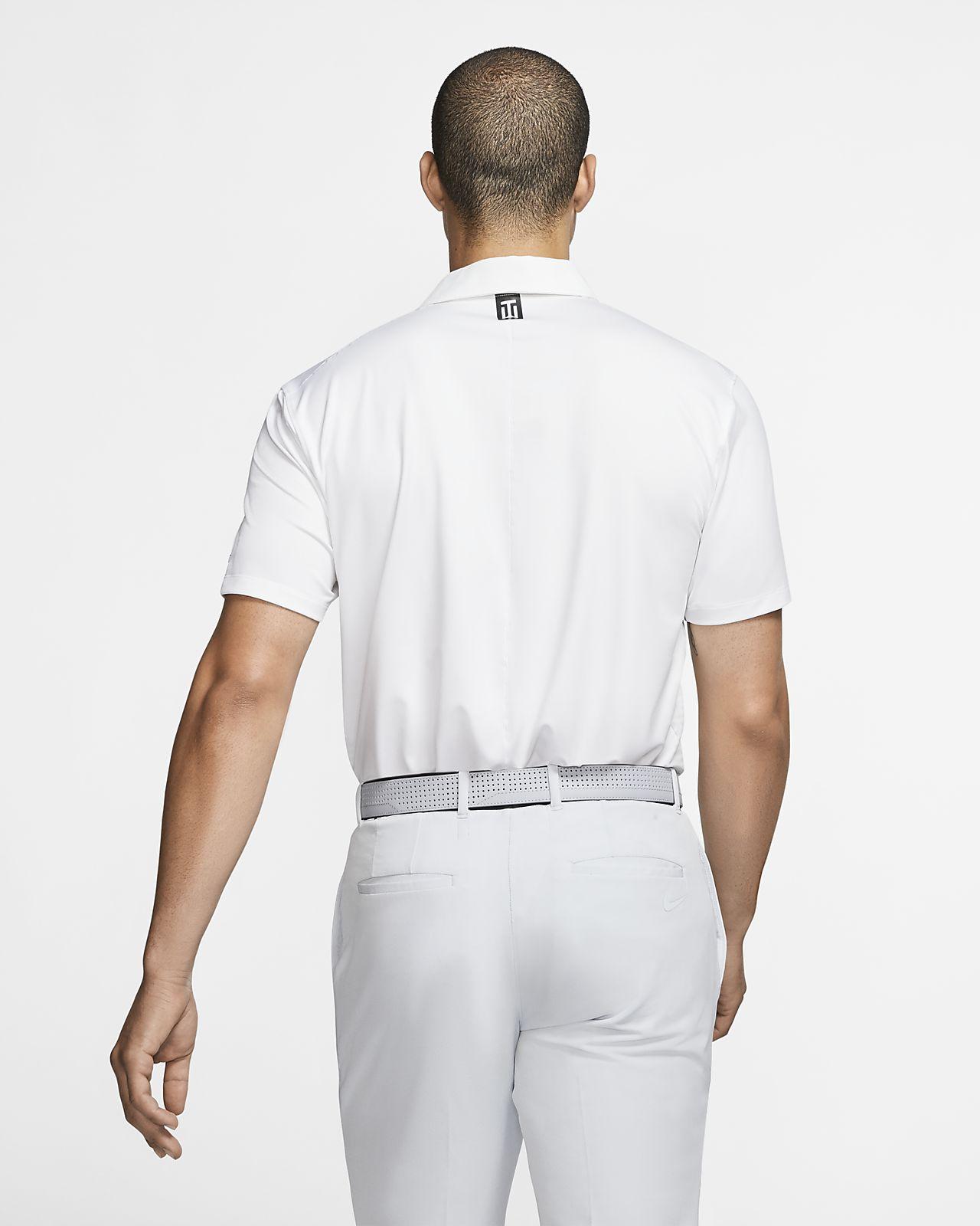 f3eca611 Nike Dri-FIT Tiger Woods Vapor Men's Striped Golf Polo. Nike.com CH