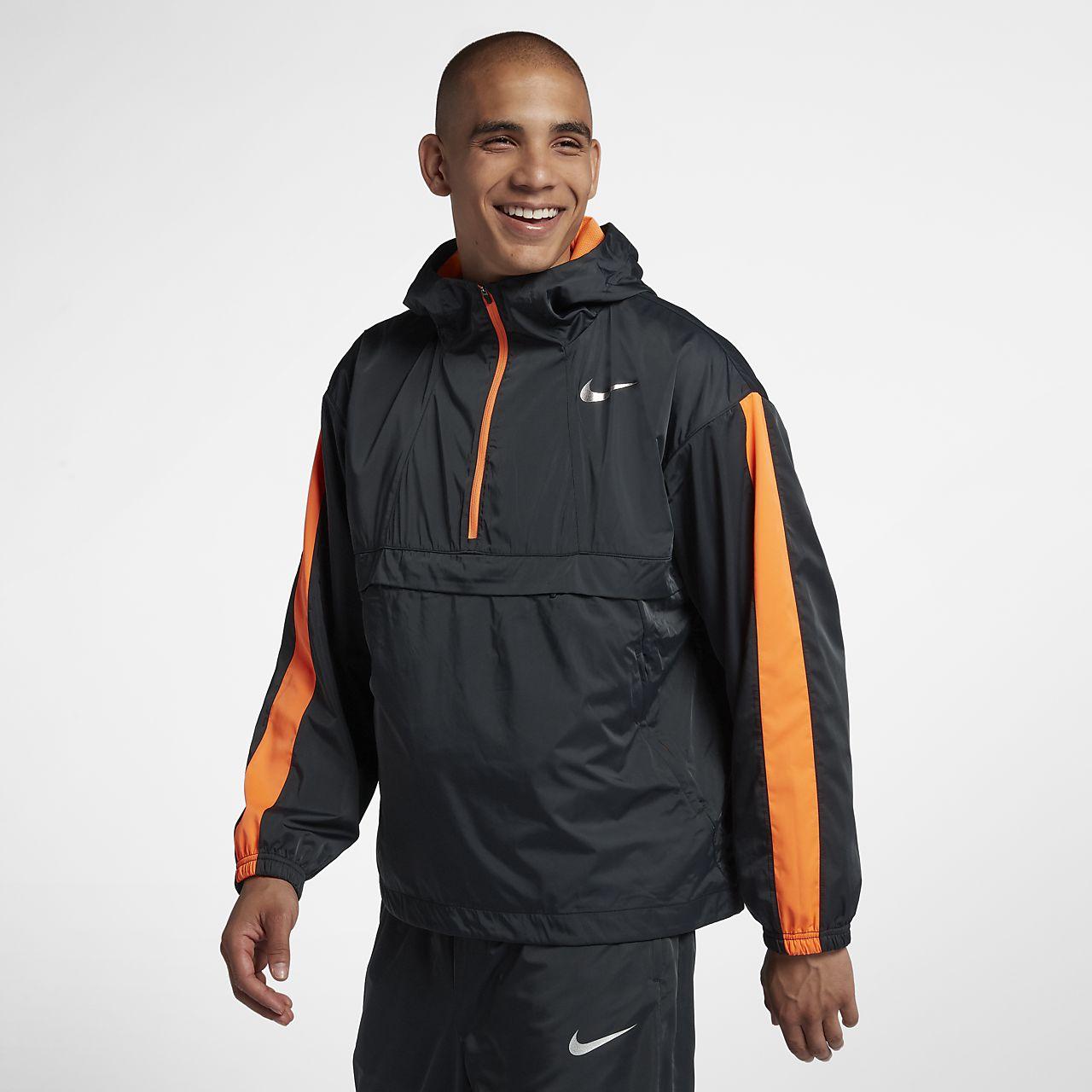Nike Repel Anorak Men's Running Track Jacket