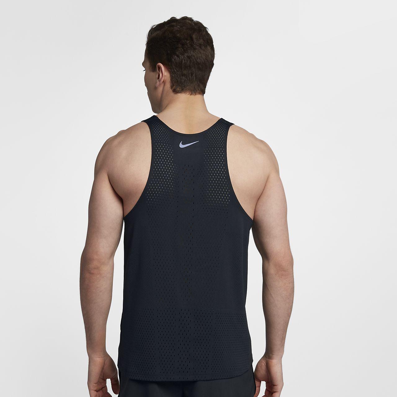 Haut de running sans manches Nike AeroSwift pour Homme