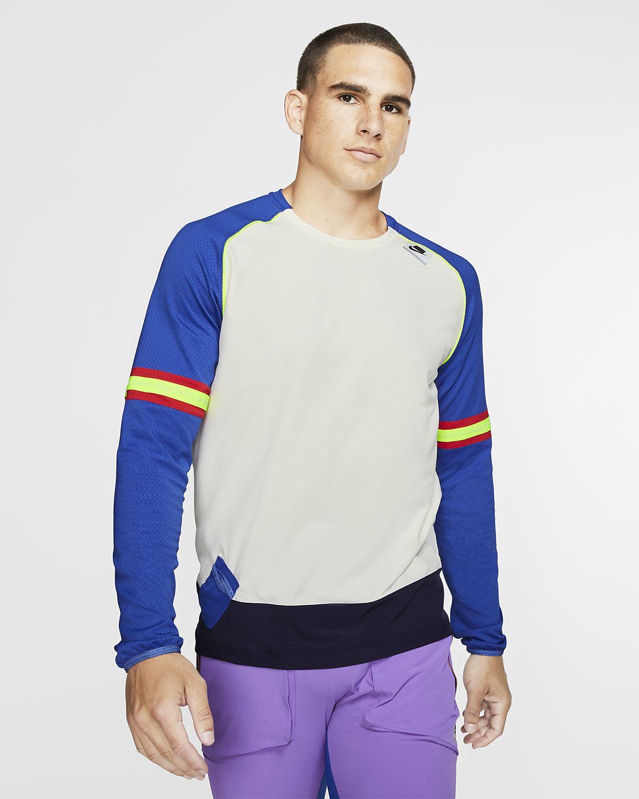 Ανδρική μακρυμάνικη μπλούζα για τρέξιμο Nike Wild Run