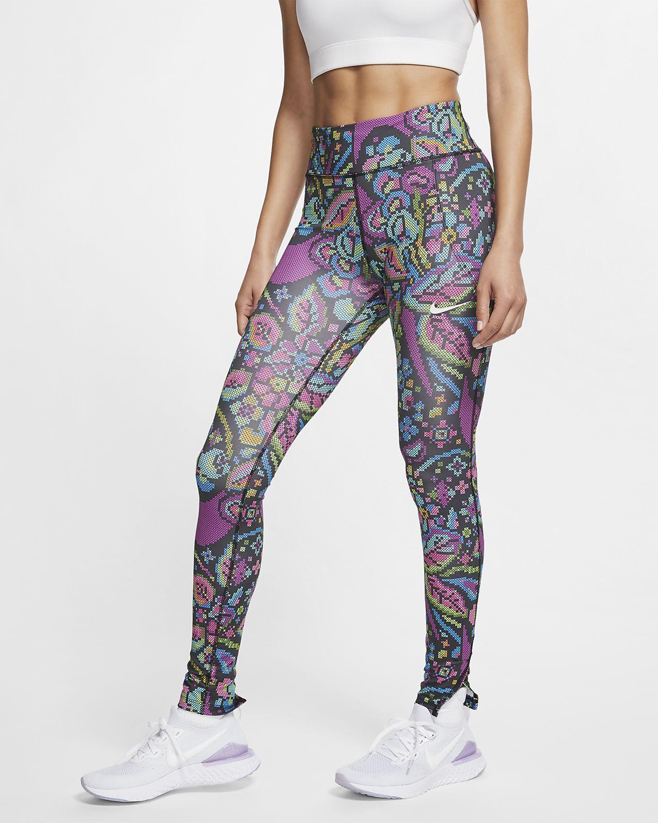 Legging de running imprimé Nike Fast pour Femme