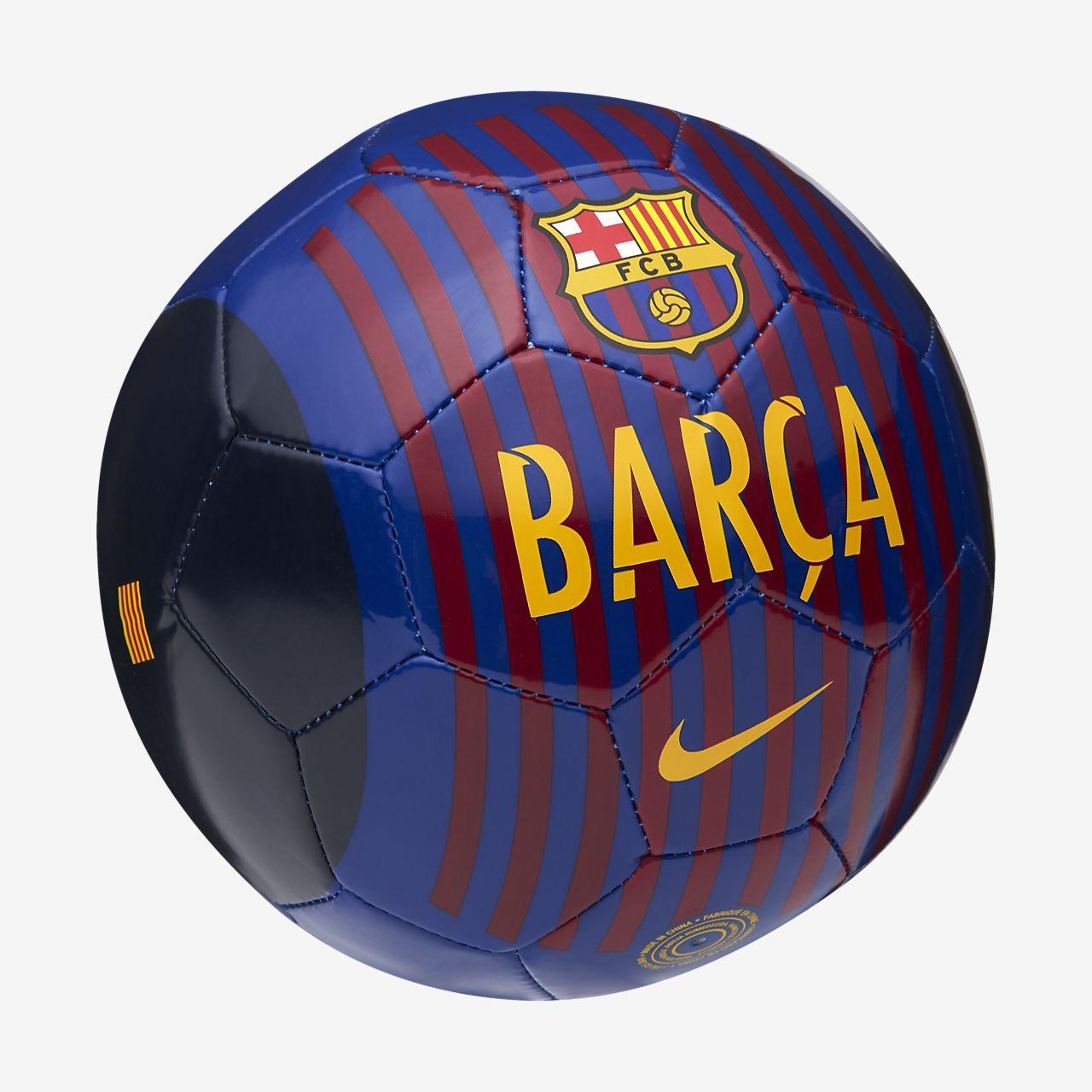 Balón de fútbol FC Barcelona Skills. Nike.com CL 9044b60778582