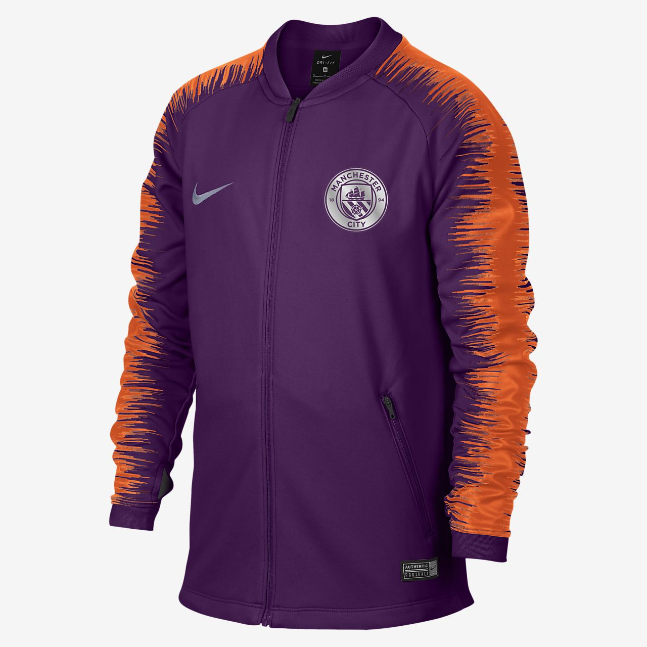 0914980049e Manchester City FC Anthem Older Kids' Football Jacket. Nike.com SI