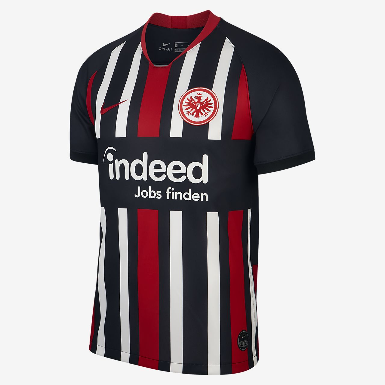 Eintracht Frankfurt 201920 Stadium Home Men's Football Shirt