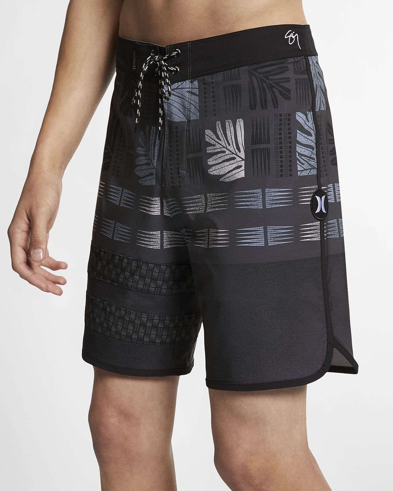 "Hurley Phantom Sig Zane Maloulu Men's 18"" Board Shorts"