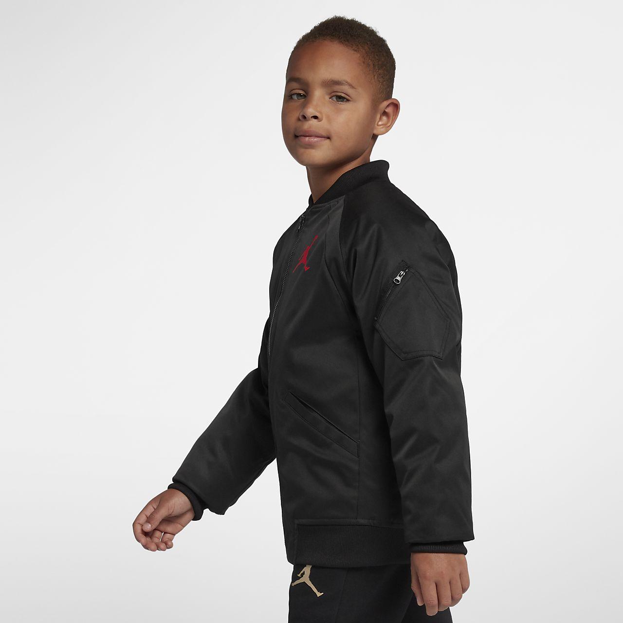 2df0ce632340 Jordan Wings MA-1 Big Kids  Jacket. Nike.com