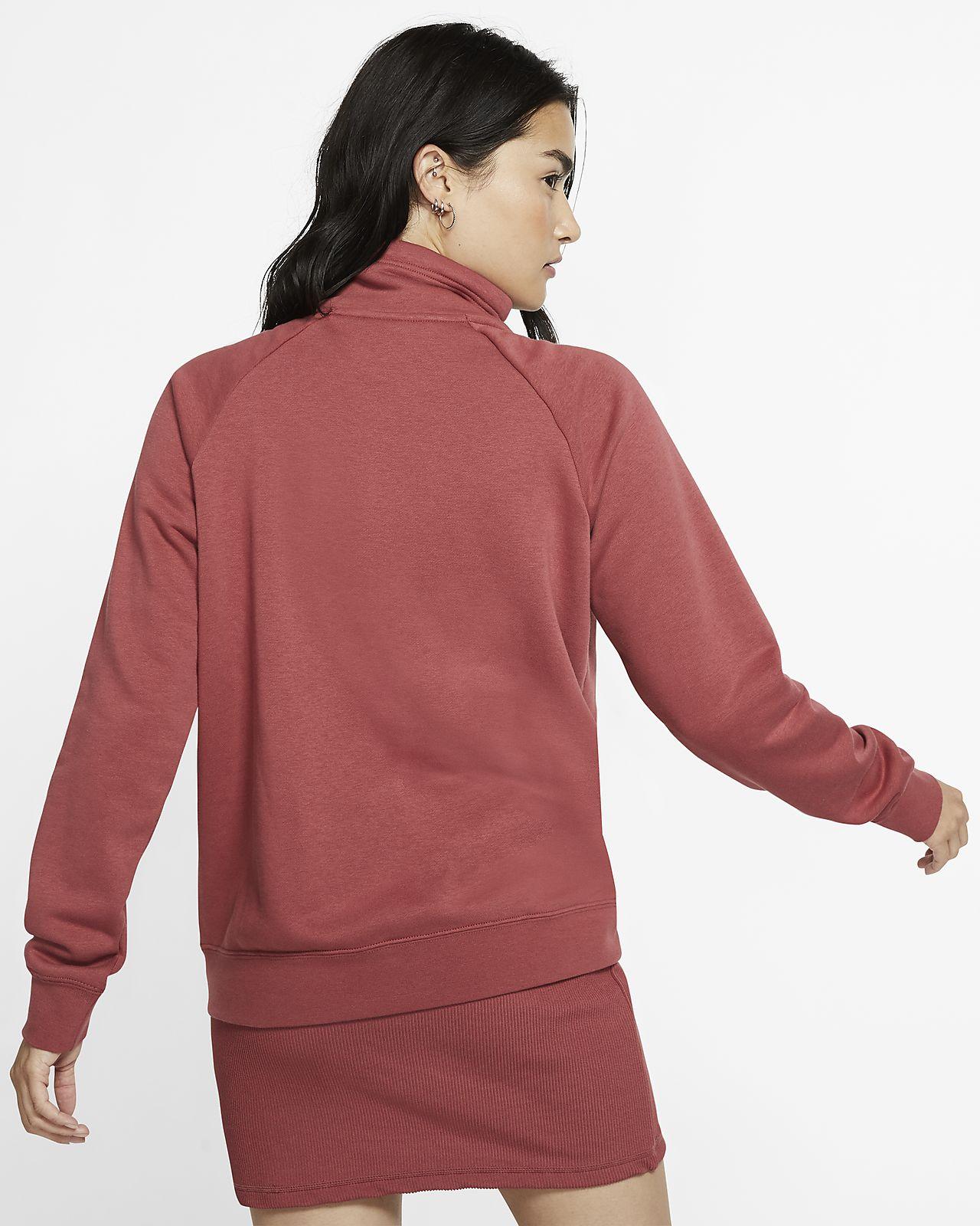 Nike Sportswear Essential Women's 14 Zip Fleece Top