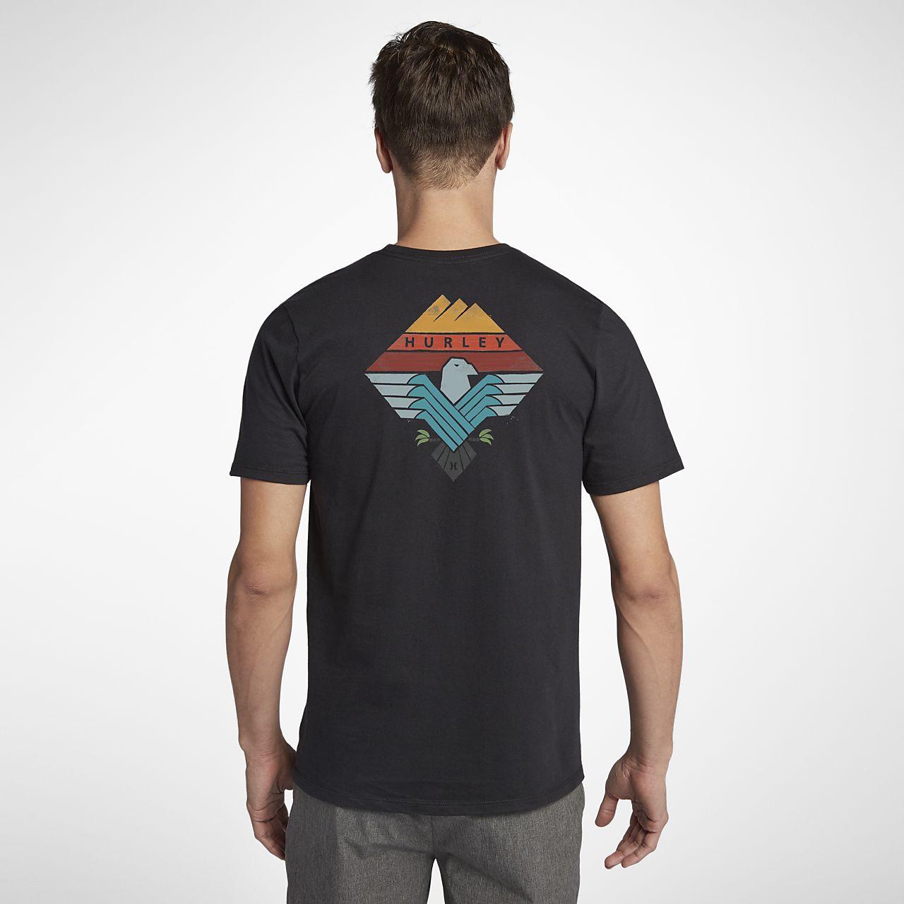 ... Hurley Surfin Bird Men's T-Shirt