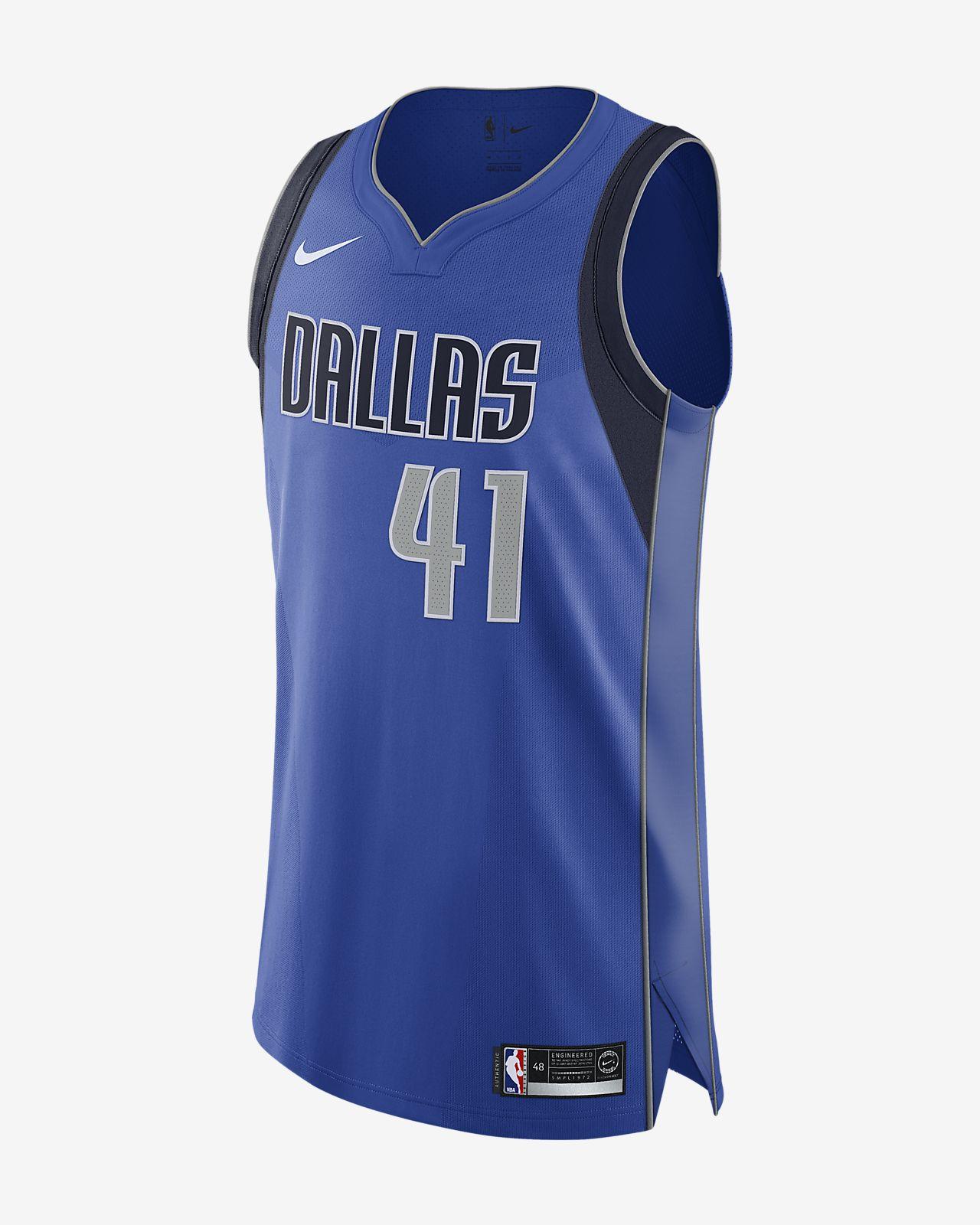 Dirk Nowitzki Icon Edition Authentic (Dallas Mavericks) Men s Nike ... f34300e60