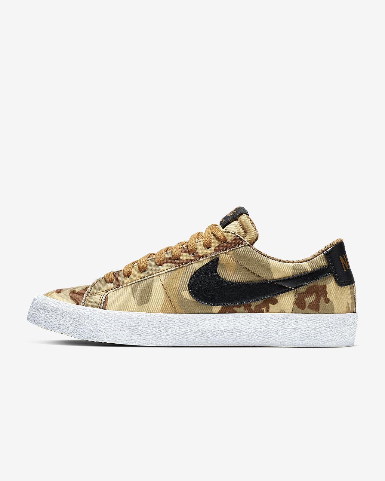 Nike SB Blazer Zoom Low CNVS男/女滑板鞋