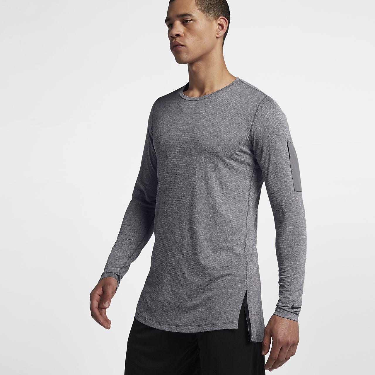 Nike Dri-FIT Men s Utility Long-Sleeve Training Top. Nike.com GB 2a5b9d486