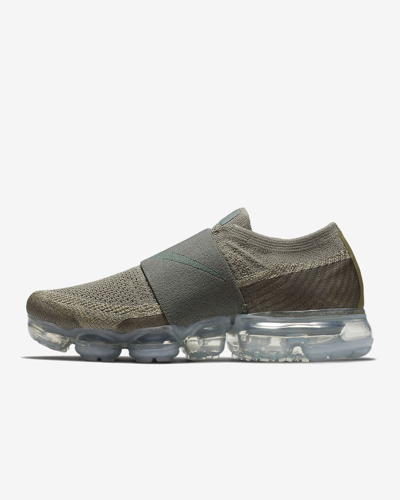 Nike WMNS Pro Air Vapormax Flyknit Moc Brand Multi Color Black Offer Anthracite Volt AA4155 003