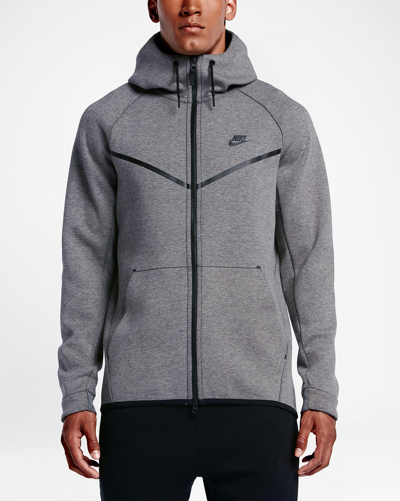 Réduction authentique nike sportswear tech fleece windrunner noir ... f3f0c497c5b6