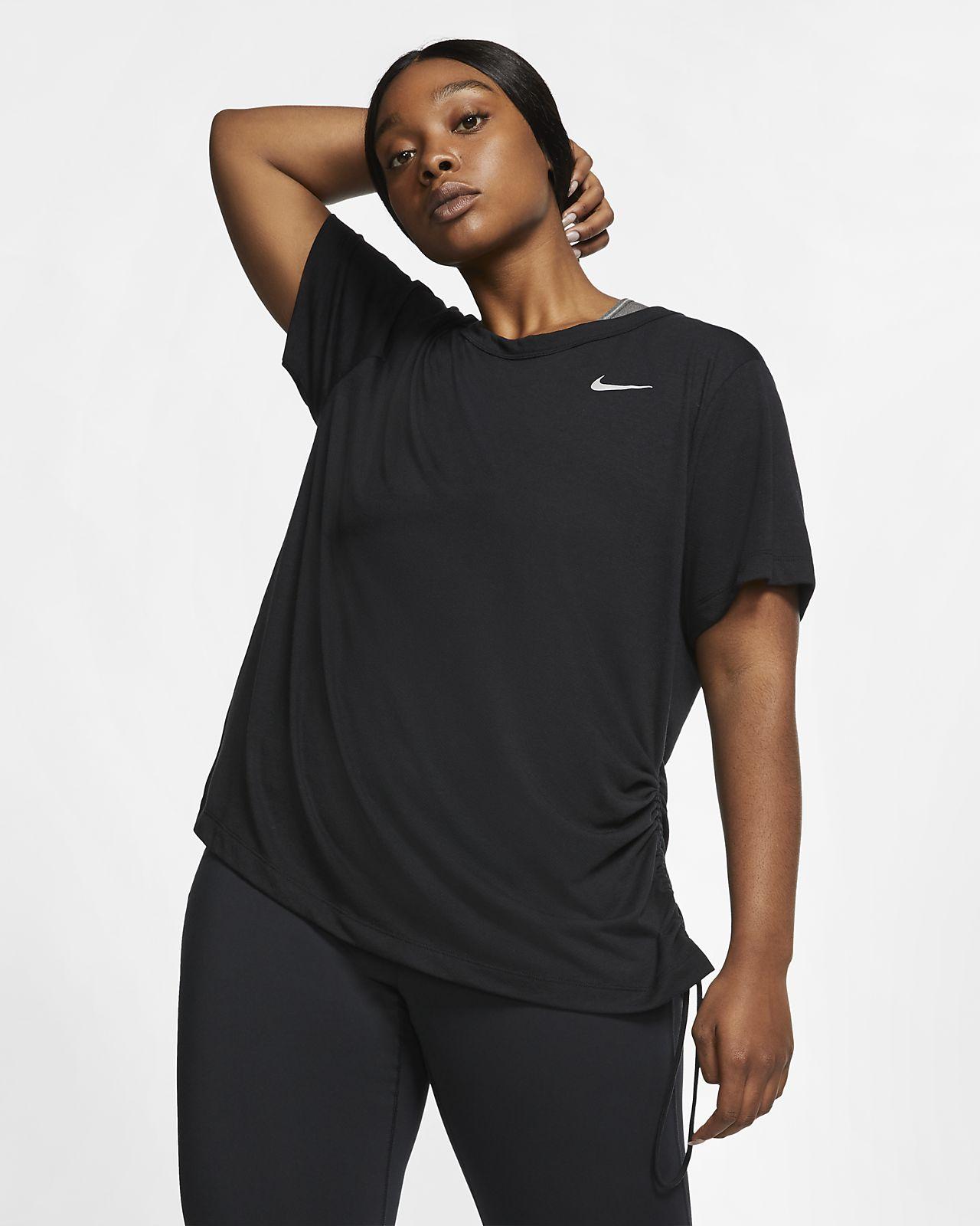 89c57c90a Nike Miler Women's Short-Sleeve Running Top (Plus Size). Nike.com