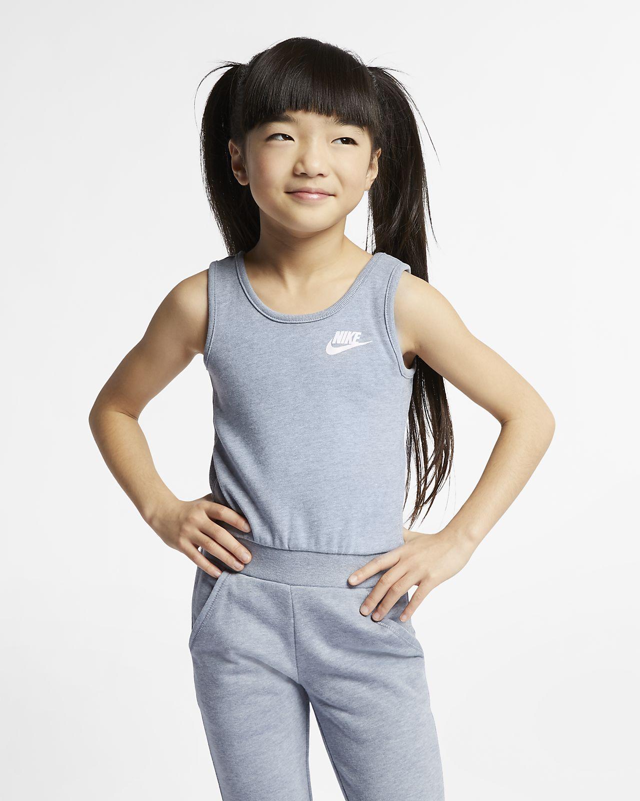 Nike Sportswear Little Kids' Sleeveless Jumpsuit