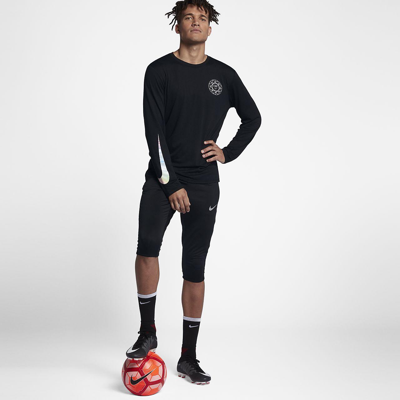 size 40 56b9a 8e739 Nike Dry CR7 Men's Long-Sleeve T-Shirt