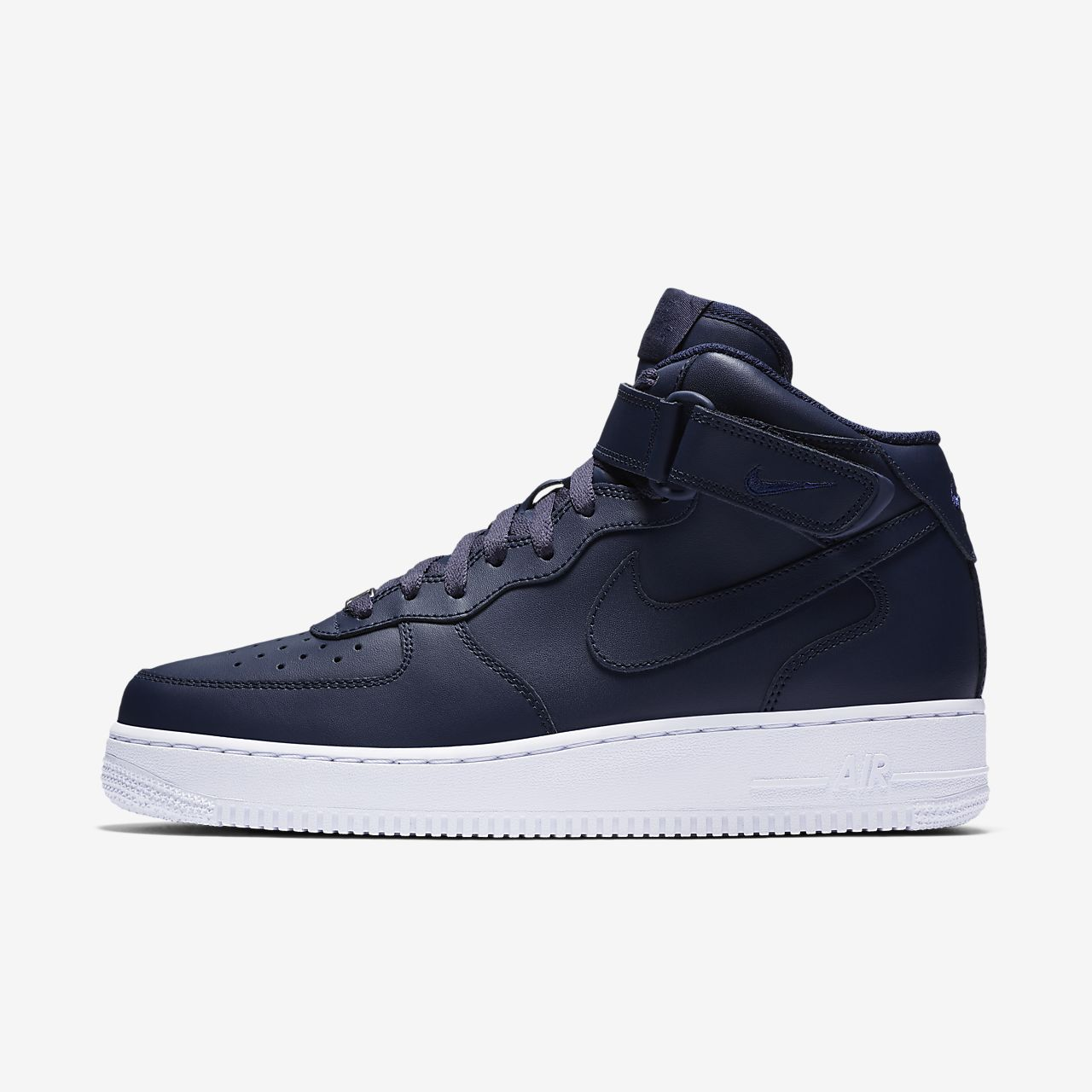 nike sf air force 1 mid blu