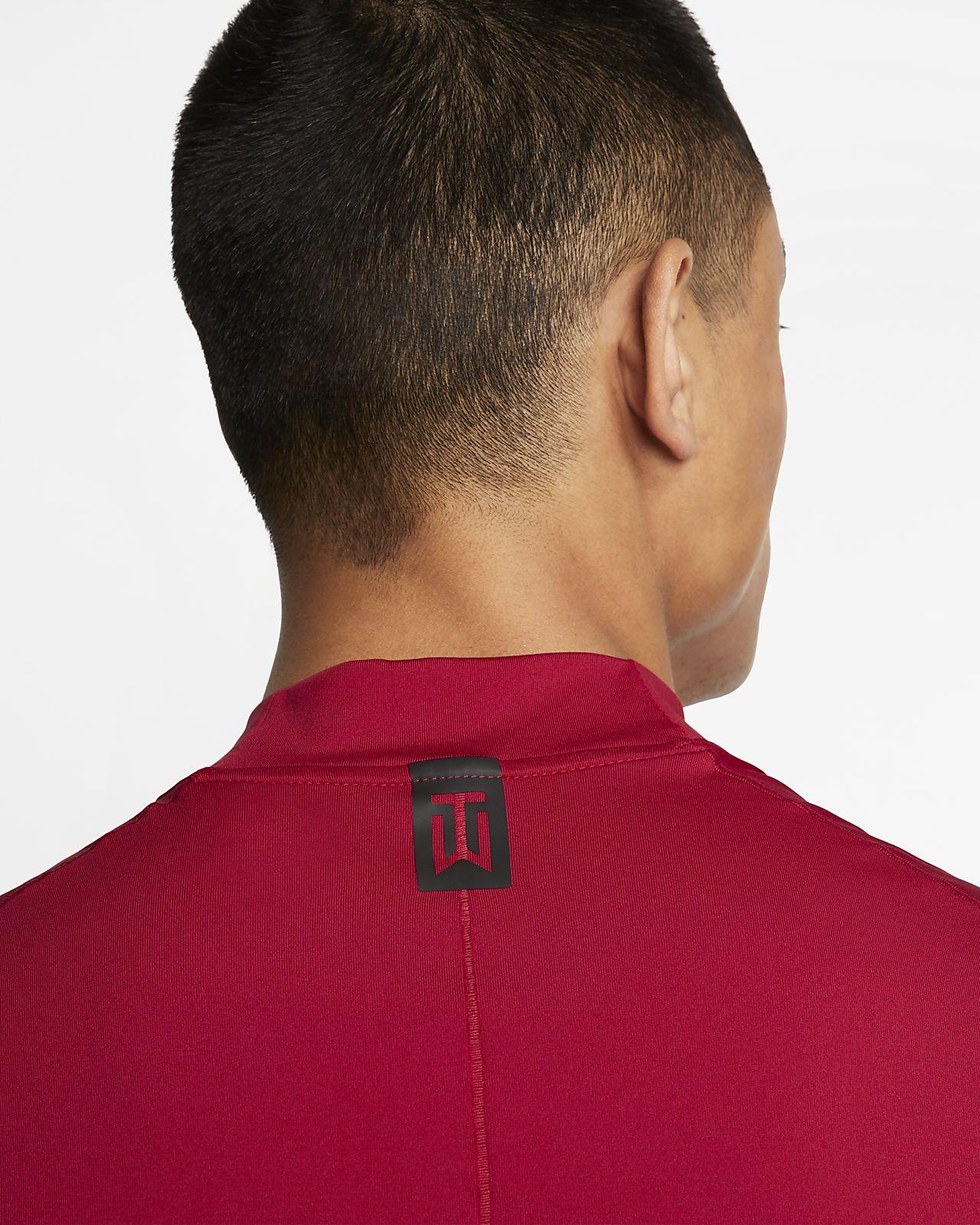 e8f011ab Nike Dri-FIT Tiger Woods Vapor Men's Mock-Neck Golf Top. Nike.com GB