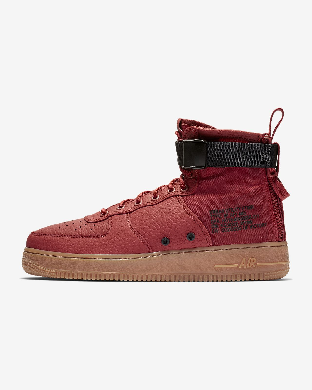 huge discount 04af7 bf209 Nike SF Air Force 1 Mid Men's Shoe. Nike.com