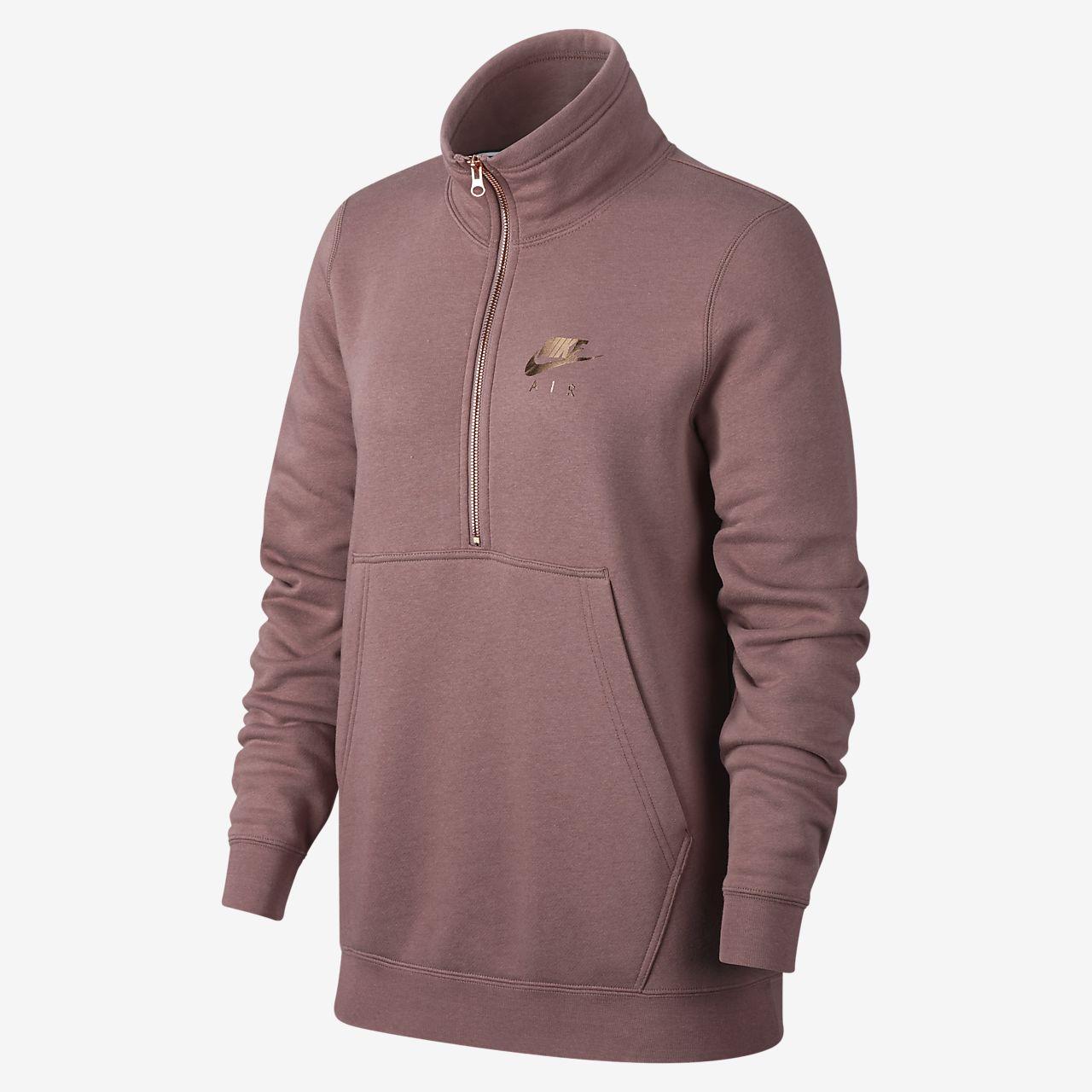 Nike Air Women's 1/2-Zip Fleece Top