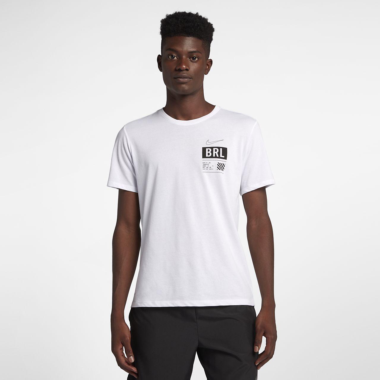 9f4d47d792f6 Nike Dri-FIT (Berlin 2018) Men s Running T-Shirt. Nike.com ZA