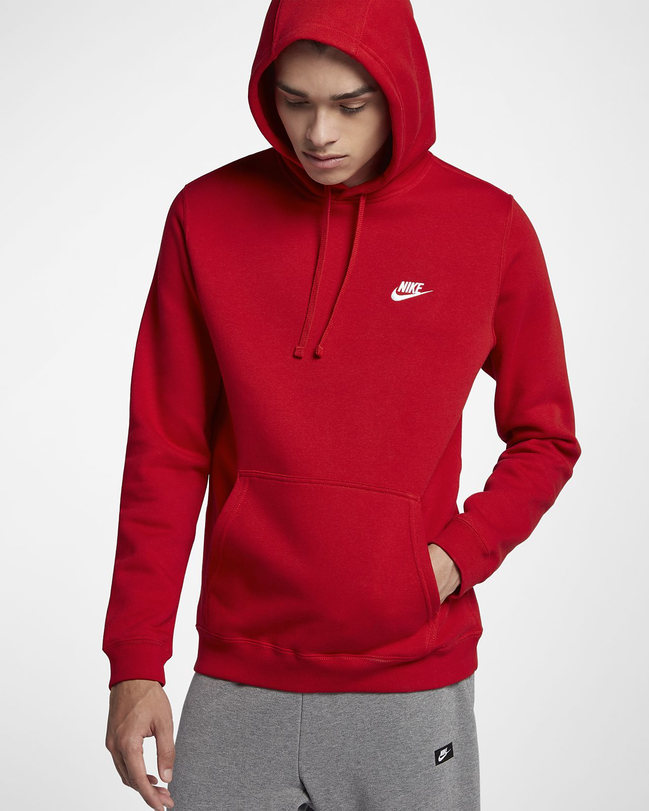 13d614cb6bfdc Nike Sportswear Club Fleece Pullover Hoodie. Nike.com