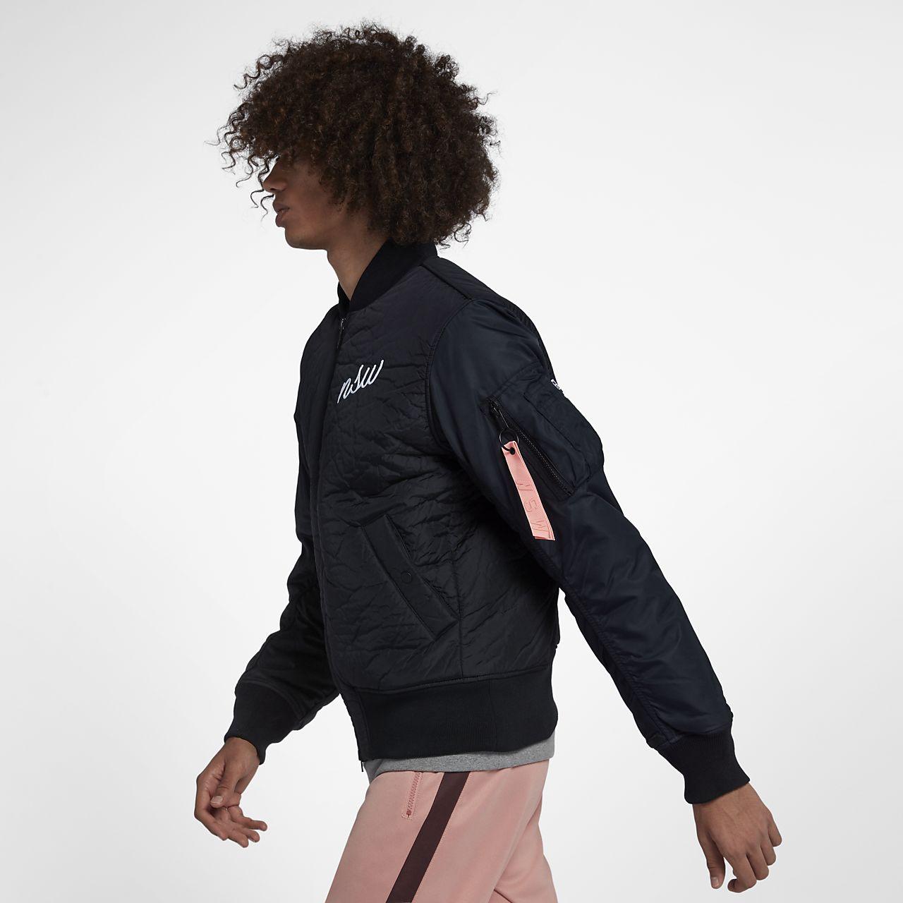 Bomber Nsw Chaqueta Synthetic Hombre Fill Sportswear Nike mf76vyIgYb