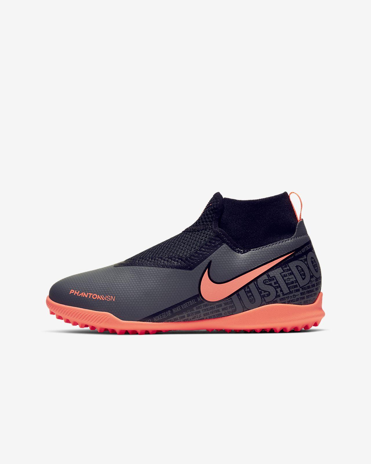 Nike Jr. Phantom Vision Academy Dynamic Fit Botas de fútbol para moqueta - Turf - Niño/a y niño/a pequeño/a