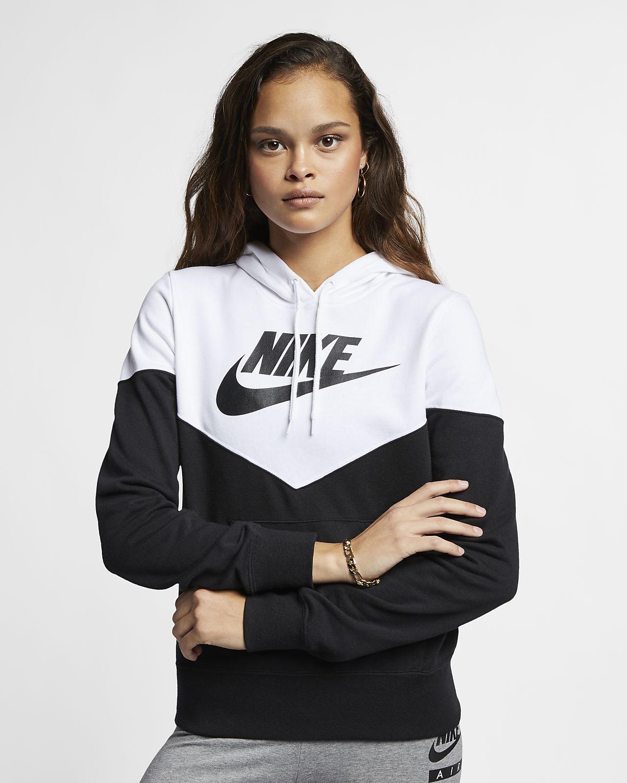Nike Sportswear Heritage Women s Fleece Hoodie. Nike.com 2e292d6cb7
