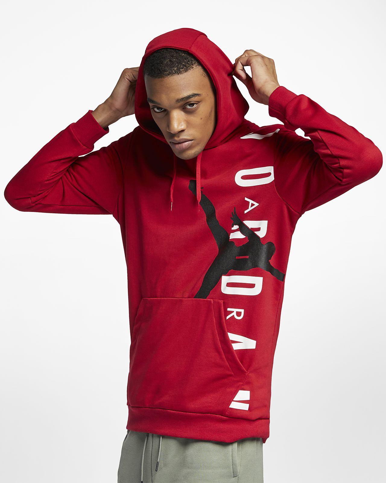 c1a5f477be42 Jordan Jumpman Air Lightweight Men s Fleece Sweatshirt. Nike.com GB