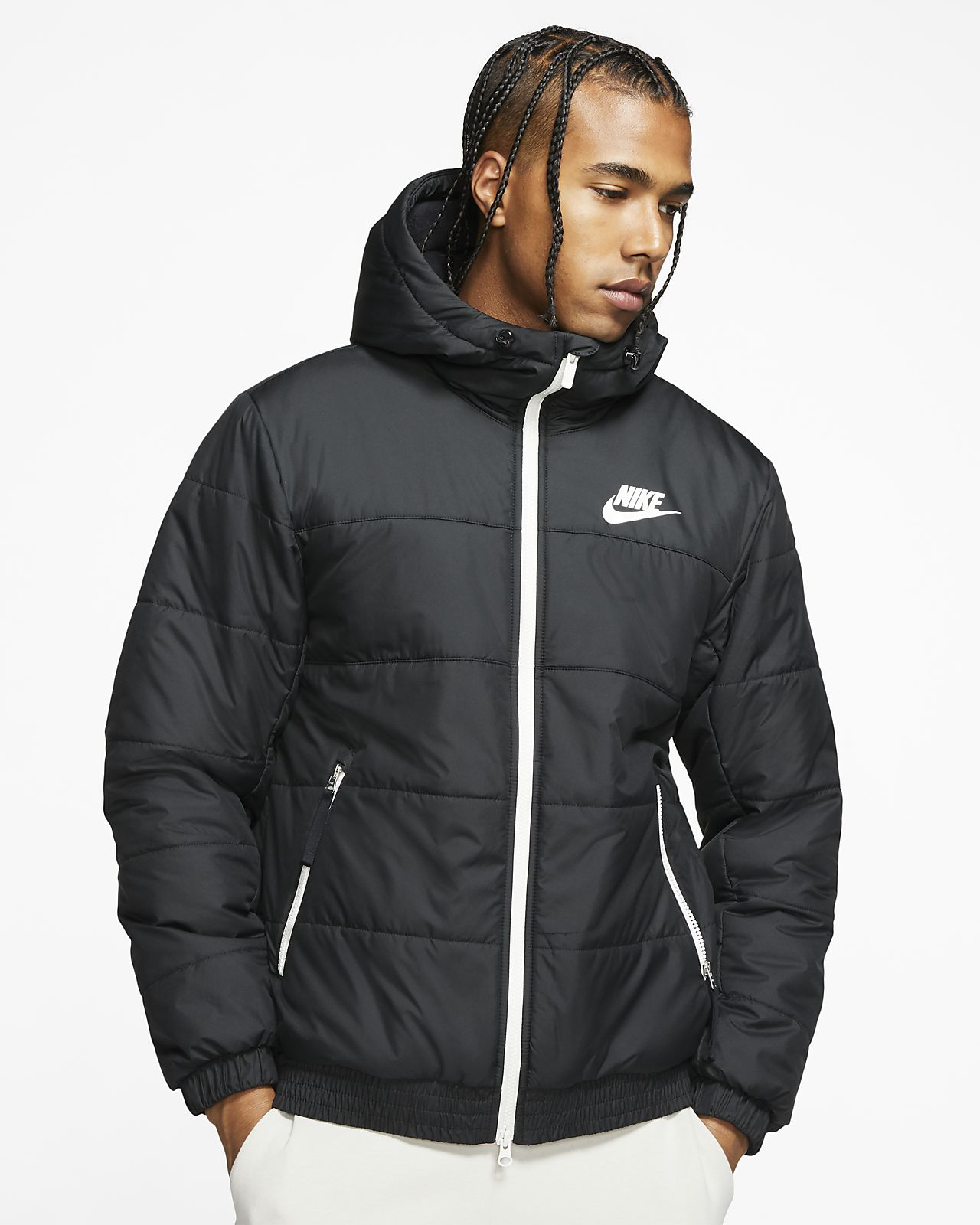 Nike Sportswear Herrenjacke mit durchgehendem Reißverschluss