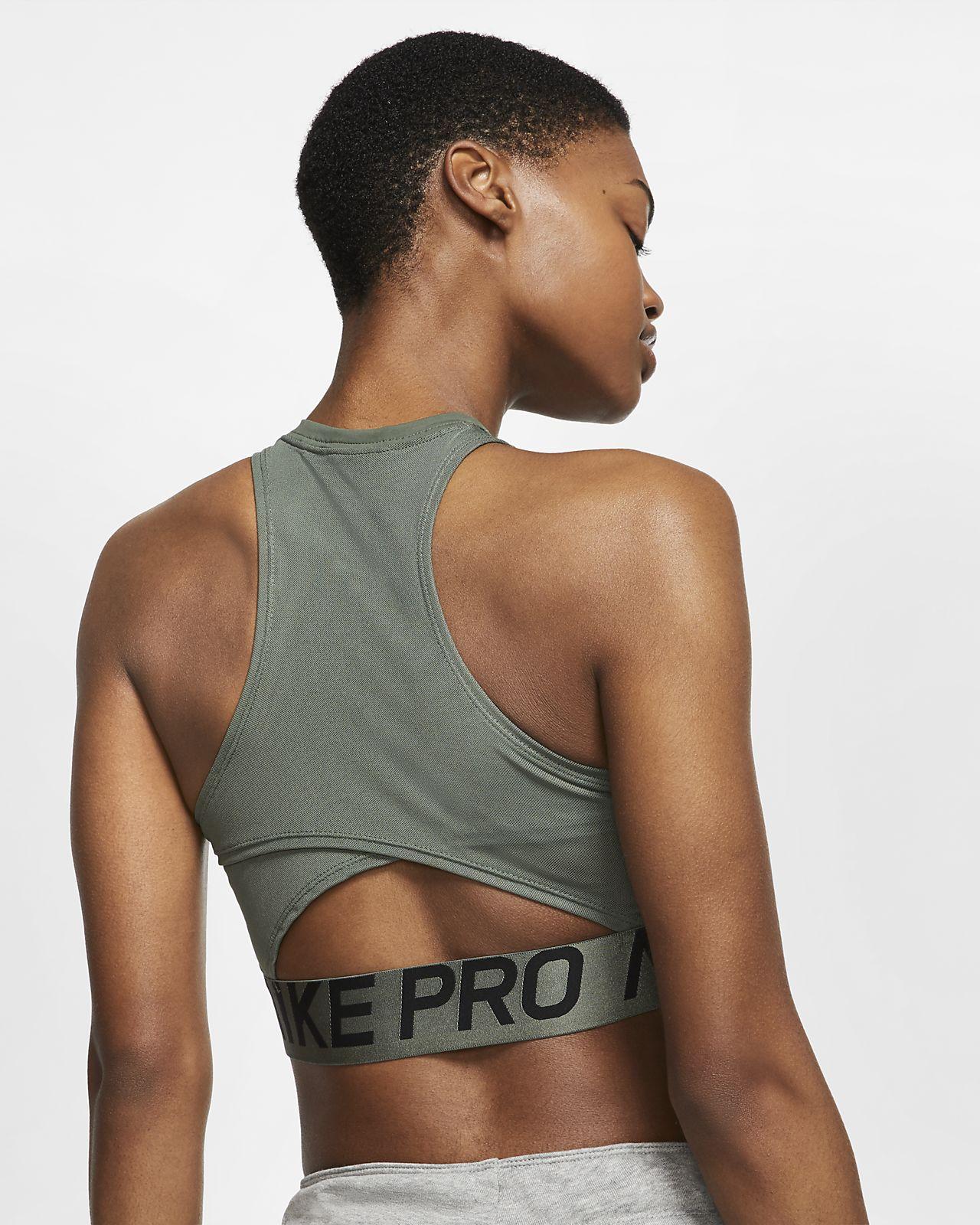 Intertwist Para De Camiseta Tirantes Mujer Nike Pro RcjL35qS4A