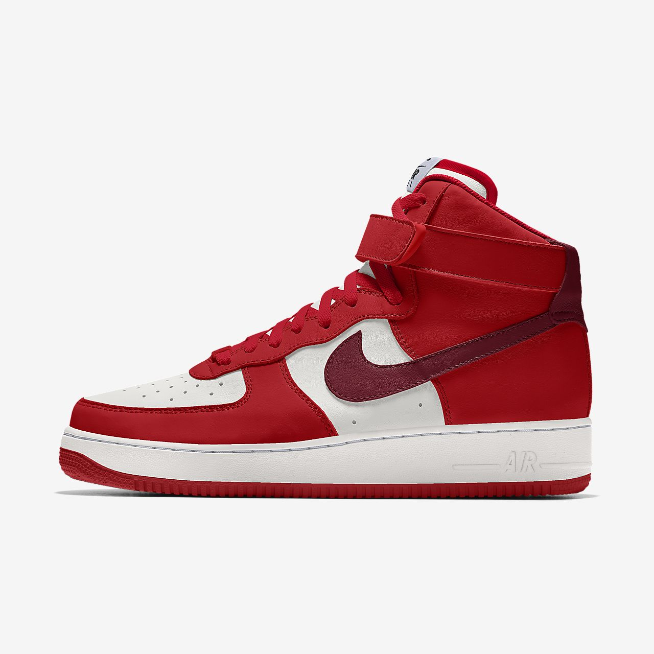 Chaussure personnalisable Nike Air Force 1 High By You pour Femme