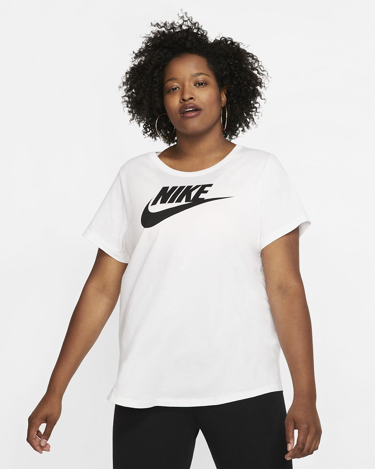 Nike Sportswear Essential Kadın Tişörtü (Büyük Beden)