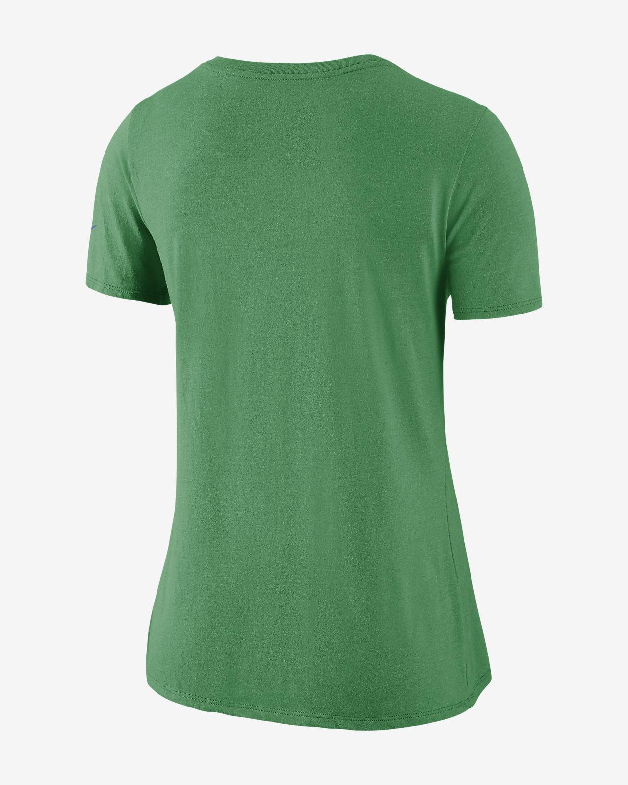 5fcfa064636 Nike Historic Tri-Blend Mid-V (NFL Seahawks) Women's T-Shirt. Nike.com