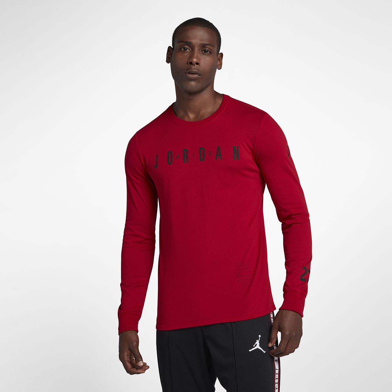 c43f357940de Jordan HO 1 Men s Long-Sleeve Basketball T-Shirt. Nike.com