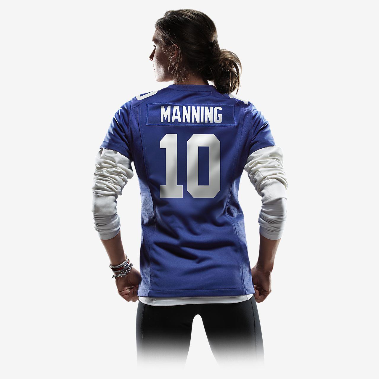 ... NFL New York Giants (Eli Manning) Camiseta de fútbol americano de la 1ª  equipación d4d8b8ffc56ce