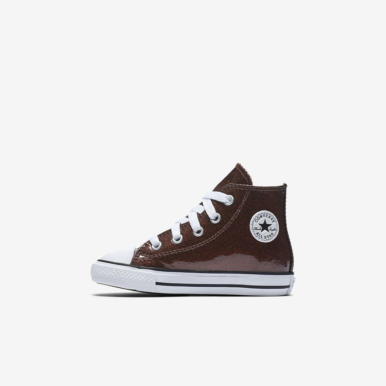Converse Chuck Taylor All Star Autumn Glitter High Top Infants' Shoe