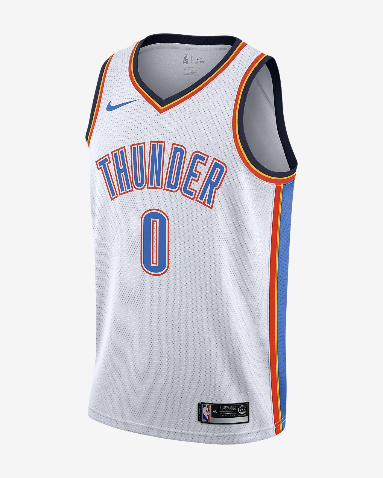 Russell Westbrook Thunder Association Edition Nike NBA Swingman Jersey