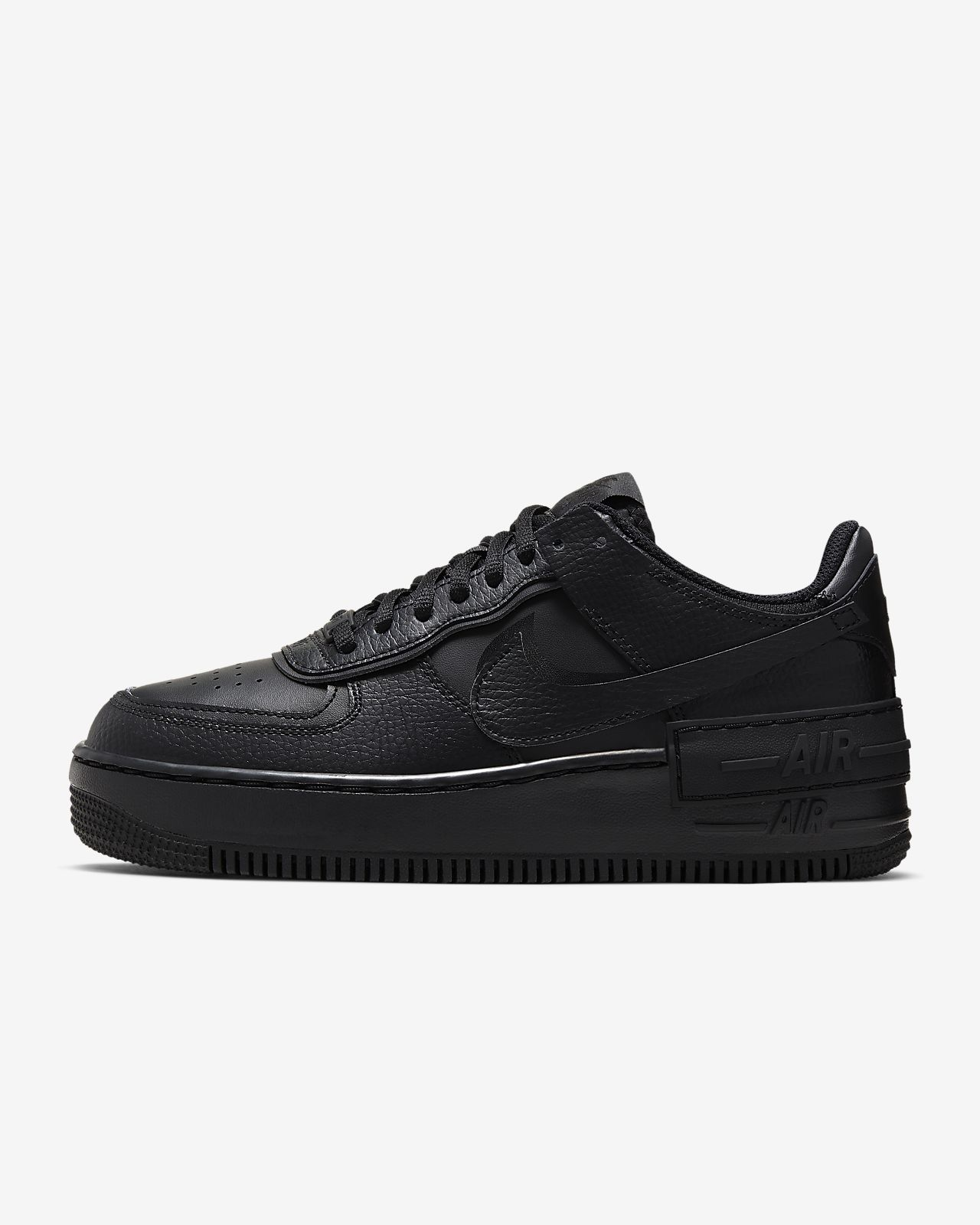 Best Sales Nike Damen Air Force 1 07 Premium Sneakers Black