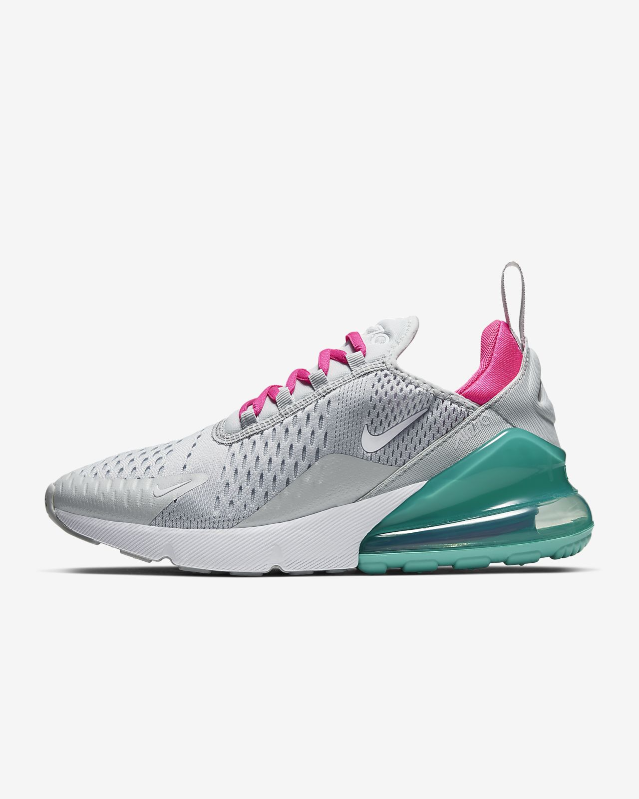 Nike Wmn Air Max 270 Flyknit Grey White | all | Kategorien