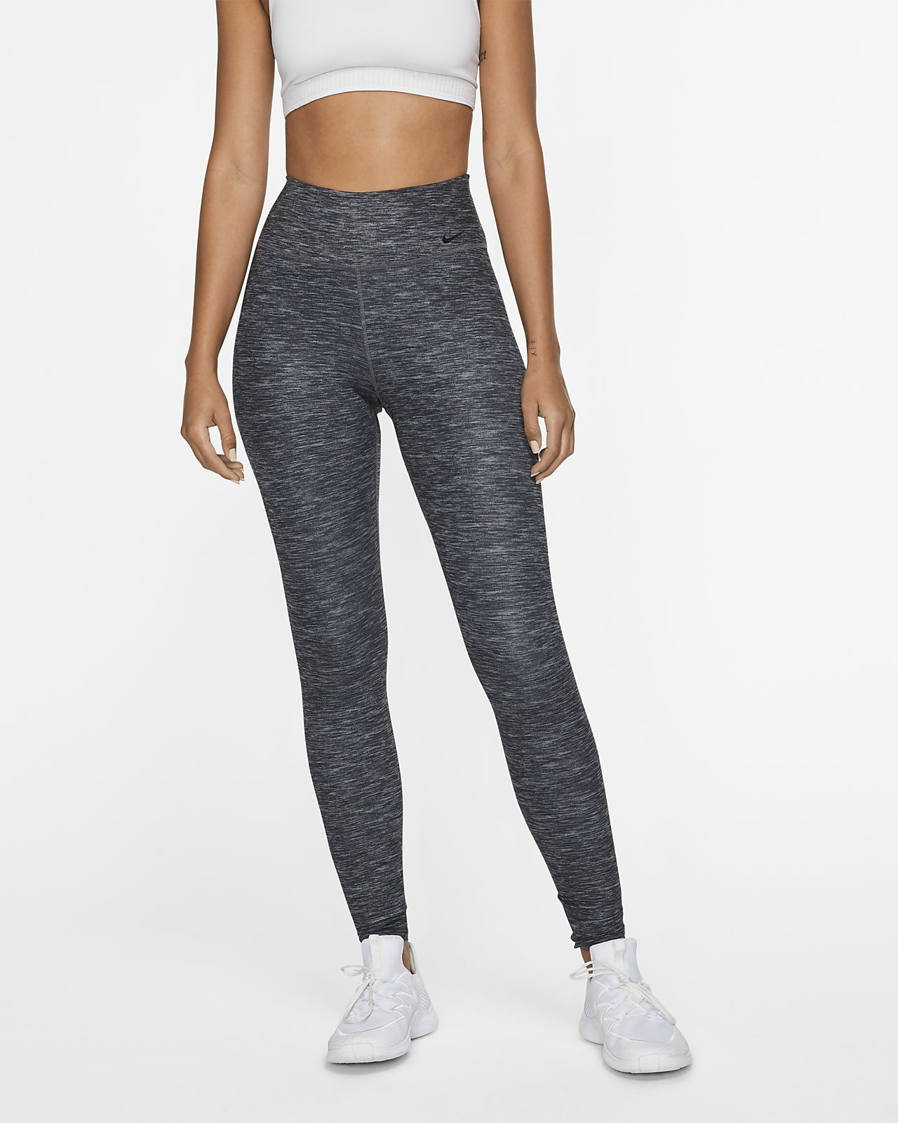 Tights mélange Nike One Luxe Donna